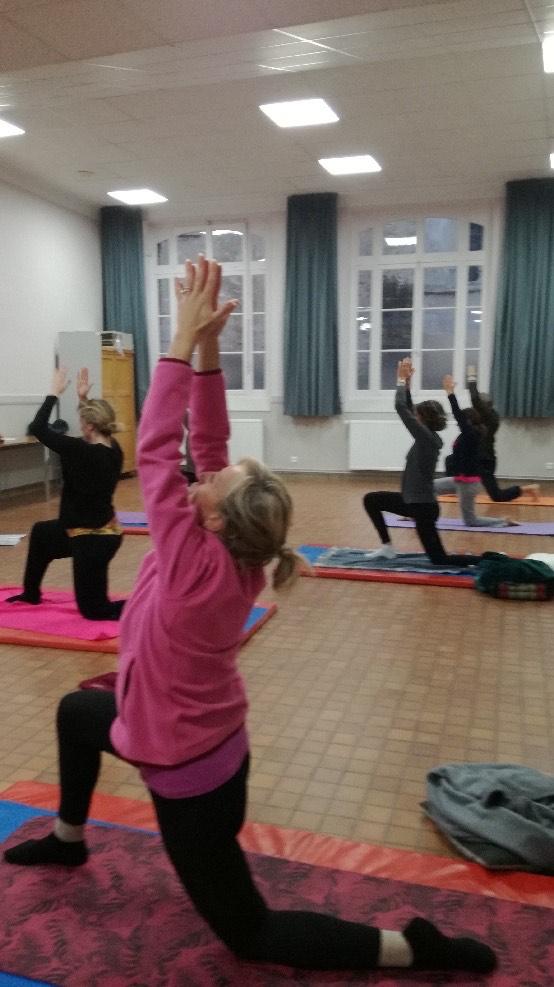 cours collectif yoga yvelines
