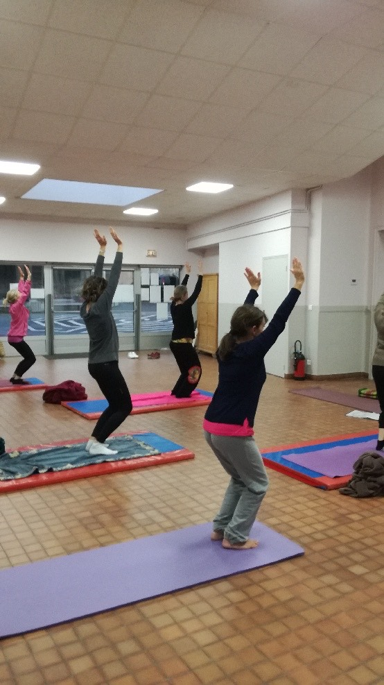 cours collectif yoga 78